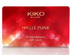 Acquista gift card Kiko: buono da 10 euro in regalo