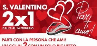 Parti…amo: la promo di Trenitalia per San Valentino