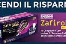 Unieuro regala Kit Zafiro Led Beghelli