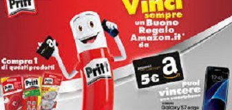 Pritt regala buono Amazon da 5 euro!