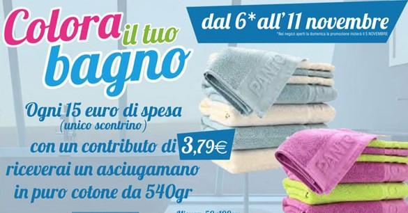 Ipersoap regala asciugamani colorate per rinnovare il tuo bagno