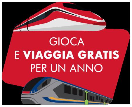 Concorso Trenitalia: viaggia gratis per un anno