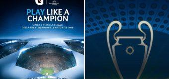 Concorso Gatorade: vinci la finale di Champions League