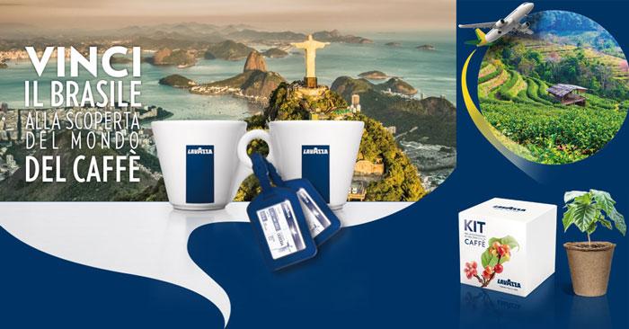 Concorso Lavazza: viaggio in Brasile in palio!