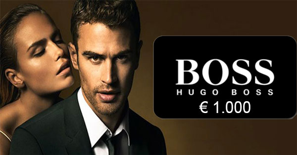 Concorso Hugo Boss: come vincere 1000€ di shopping