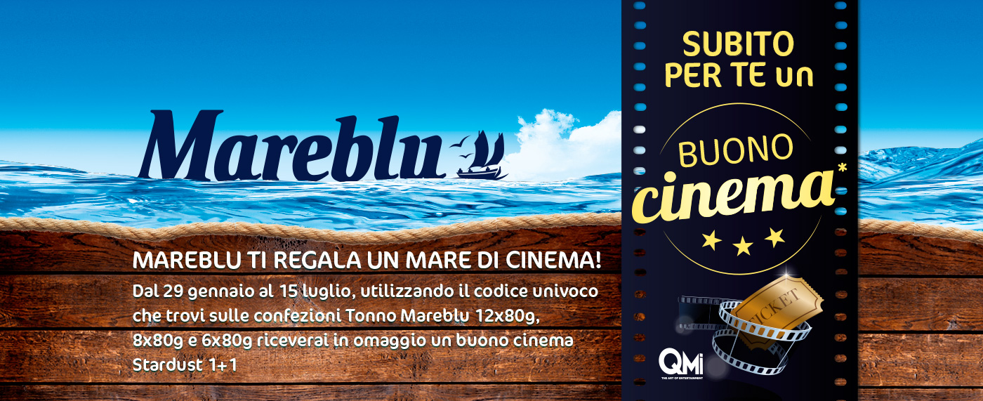 Concorso MareBlu: vinci ingressi al cinema